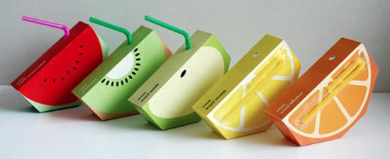 Envase de gajos de fruta - Autor - Yunyeen Yong